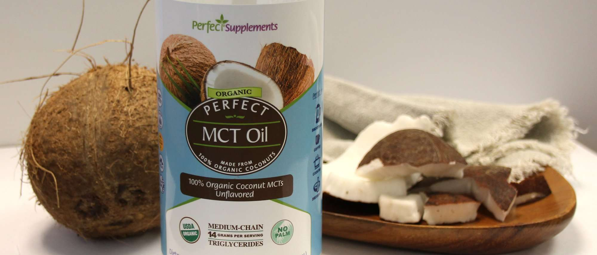 The BEST MCT Oil is from Perfect Supplements
